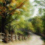Wendy Baillie - Summer's End - HM - Digital Beginner Artistic Contemporary