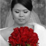 Raymond Hsu - Bride And Bouquet - HM - Digital Advanced The Colour Red