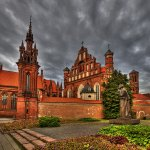 Ina Miglin - St Anne Church In Vilnius - 2nd - Digital Advanced Pictorial