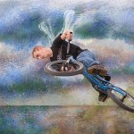 Hilarie McNeil-Smith / Bike Angel / 1st / Digital Advanced Artistic Contemporary