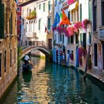 Rick DaSilva - VENETIAN AFTERNOON - HM - Print Level 1 Pictorial