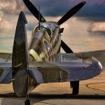 Kevin White / Spitfire / HM / Digital Advanced Pictorial