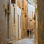 Sandra Hawkins - STREET IN MALTA - 1st - Print Level 2 Pictorial