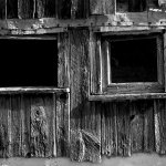 George Webster - Two Windows - HM - Print Level 1 Monochrome