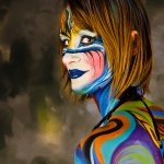 Jon Clarke - Body Paint - HM - Digital Intermediate Pictorial