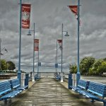 Paul McLeod - PORT CREDIT BOARDWALK - 1st - Print Level 1 Artistic