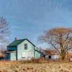 David Simmonds / Abandoned Farm House / HM / Digital Advanced Decayed and Abandoned