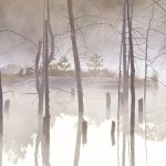 Ursula Tweddle - Stick Pond At Sunrise - 3rd - Digital Intermediate Pictorial